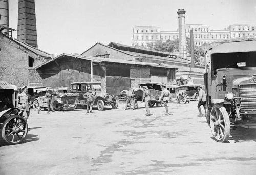 İşgal Yıllarında Dolmabahçe Gazhanesi