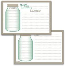 Free printable recipe cards for recipe keeping, or to create a homemade gift for someone special. Variety of themes, all beautifully designed.
