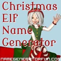 The Christmas Elf Name Generator: Your Christmas Elf Name just in case your classes need some inspiration!