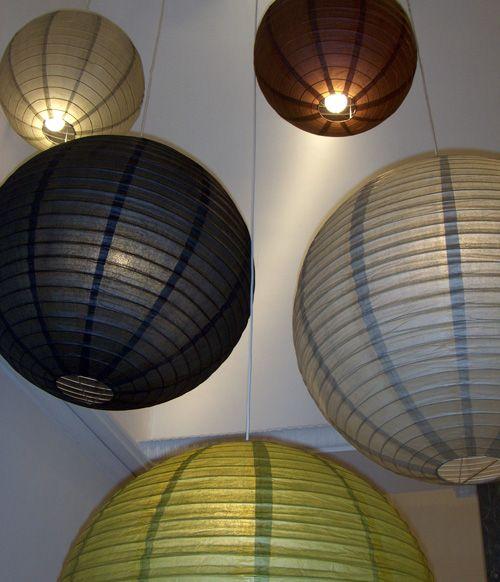 Het idee van grote witte bollen kan natuurlijk ook met for Lampen xenos