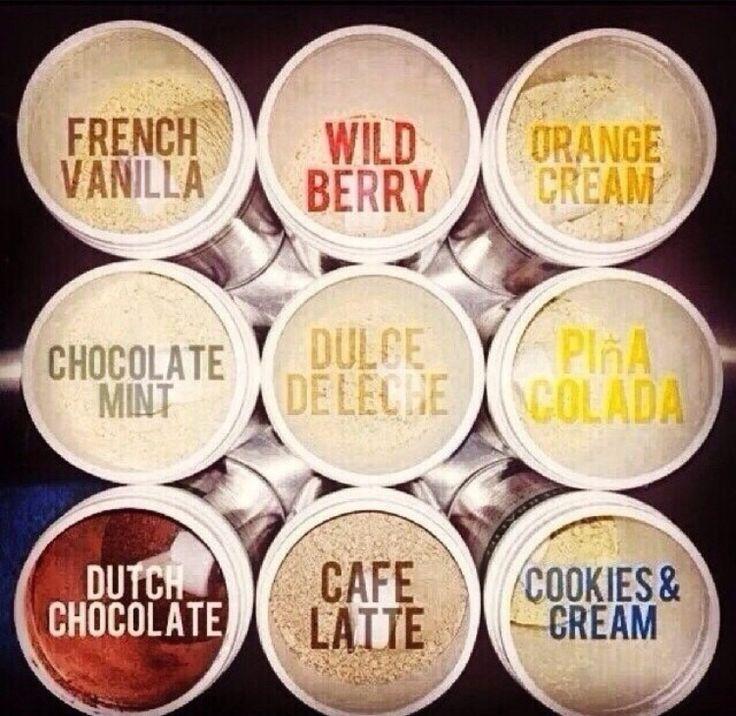 Herbalife Formula 1 Shake flavors