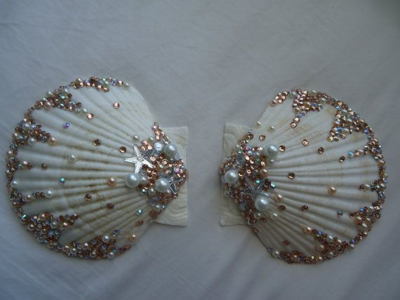 Custom Mermaid Shell Bra