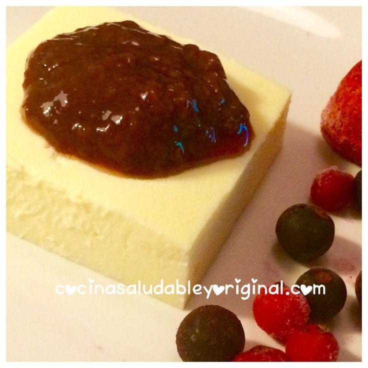 Cheesecake ultra light al microondas   Cocina