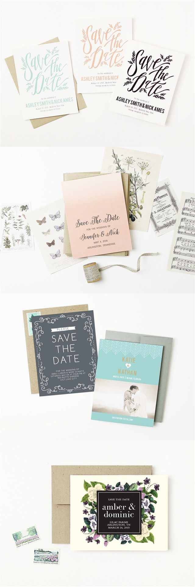 basic invite save the date invitations / http://www.deerpearlflowers.com/how-to-create-wedding-invitations-online/