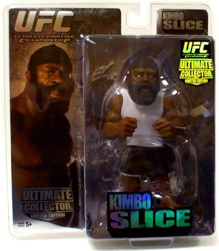 Round 5 UFC Ultimate Collector Series 2 LIMITED EDITION Kimbo Slice Round 5 UFC Ultimate Collector Series 2 LIMITED EDITION Kimbo Slice  $39.95 (as of 08/29/2016 at 17:03 UTC)  –  Round 5 UFC Ultimate Collector Series 2 LIMITED EDITION Action Figure Kimbo Slice