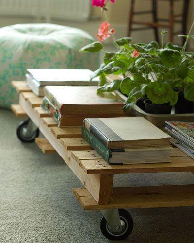 Du kan forvandle paller til fantastiske og praktiske møbler. Alt som trengs er litt fantasi - eller inspirasjon.
