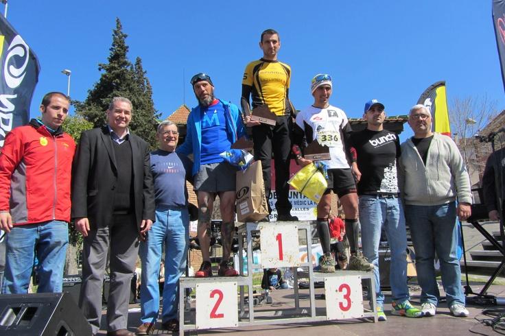 Camí dels ibers podio masculino