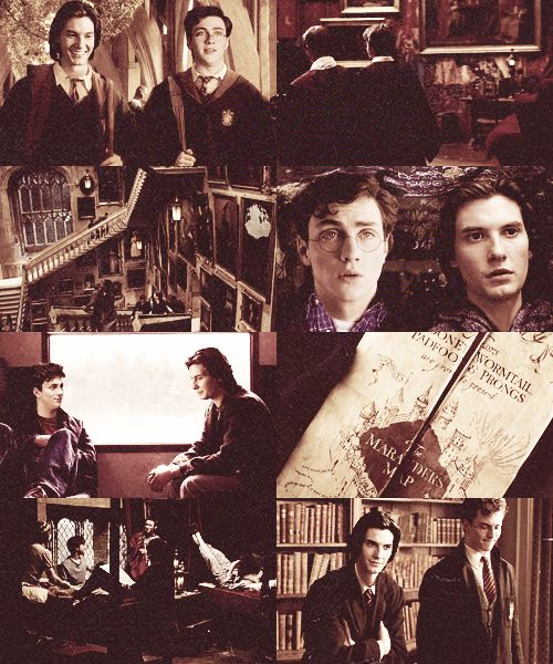 ... Era on Pinterest | The marauders, James potter and Sirius black