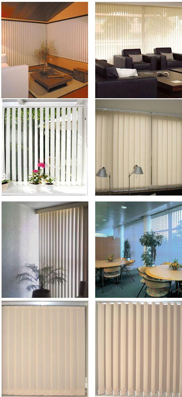 17 mejores ideas sobre rieles para cortinas en pinterest - Cortinas verticales para oficinas ...