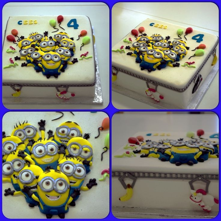 Children's Birthday Cakes - Minions Party!