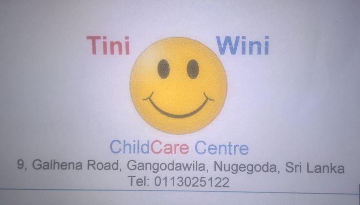 ආයතනය: Tini Wini Child Care Centre - We provide day care facility for your child upto year 10. Extra educational lessons are given to them free.ස්ථානය: නුගේගොඩ