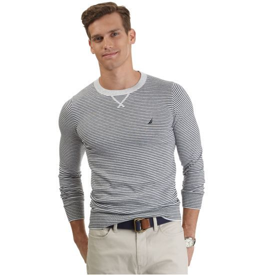 Modern Crew-Neck Sweater