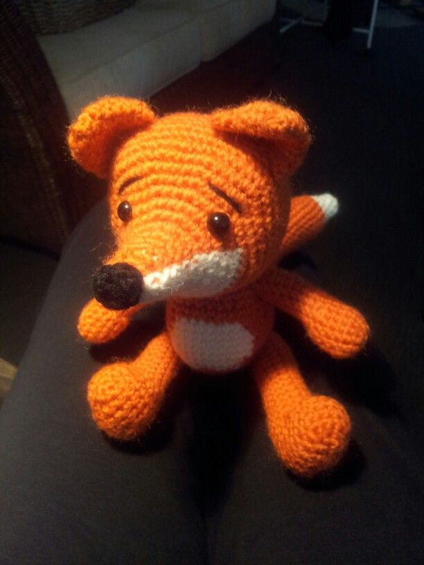 Lisa the Fox. Pattern here: http://www.pepika.com/pattern-amigurumi-fox.html