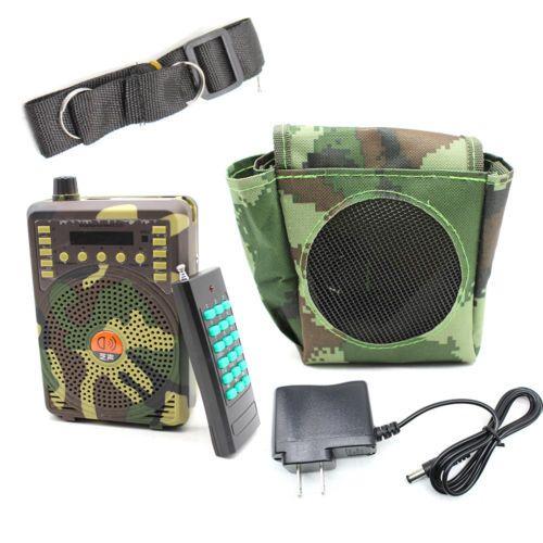 48W Wireless Hunting Speaker Bird Caller Predator Sound Caller MP3 PlayerRemote