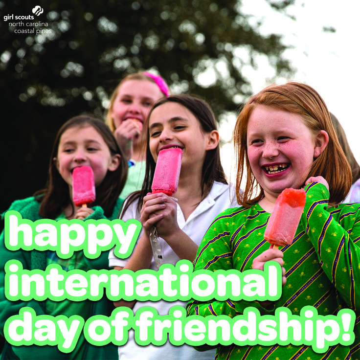 """""""Make new friends but keep the old. One is silver and the other gold."""" Happy International Day of Friendship! Give your friends an extra hug today and tell them how thankful you are to have them."""