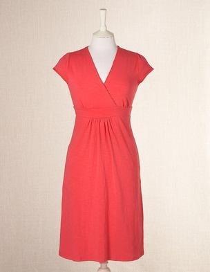 "Casual Jersey Dress ""radish"""