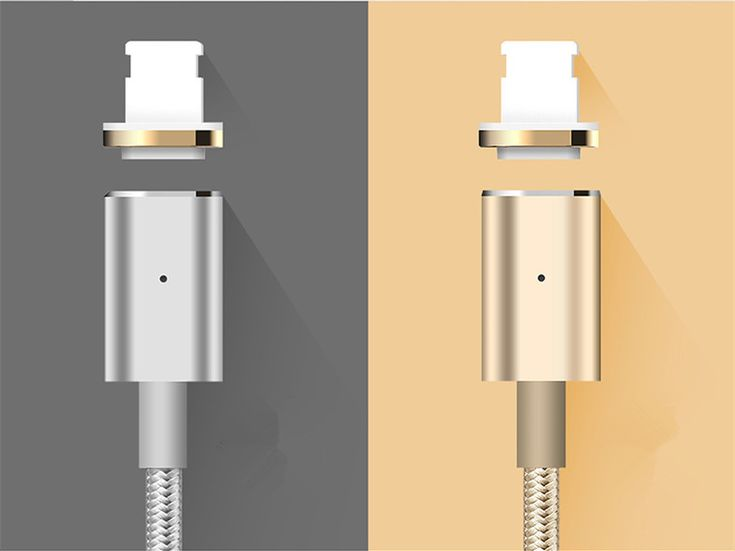 Magnetic Adsorption 3rd Gen High Speed 2.4A 8 Pin USB Charging Data Transmission Cable
