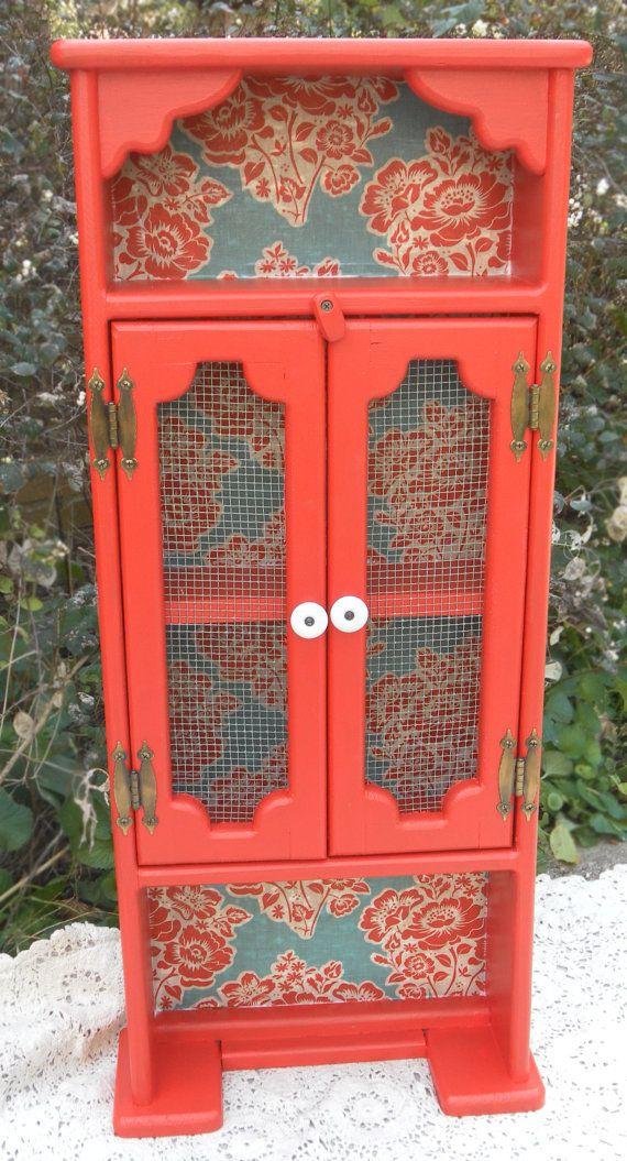 Vintage Refurbished Cabinet by HeatherLVarady on Etsy, $70.00