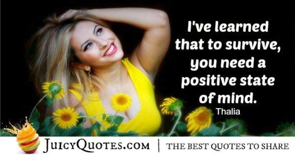 Positive Saying - Thalia