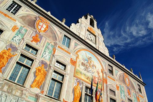 Genova - Palazzo di San Giorgio   #TuscanyAgriturismoGiratola