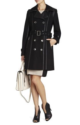 Long Trench Coat | BCBG