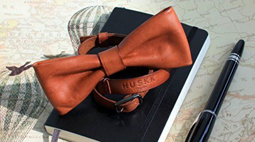 HUSKK Leather Bow Tie  http://www.yourneckties.com/huskk-leather-bow-tie/