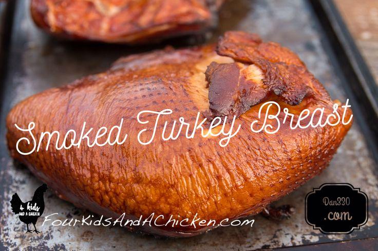 how to smoke a turkey breast