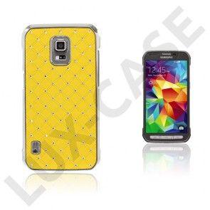 Ædelsten Starry Sky Samsung Galaxy S5 Active Cover - Gul