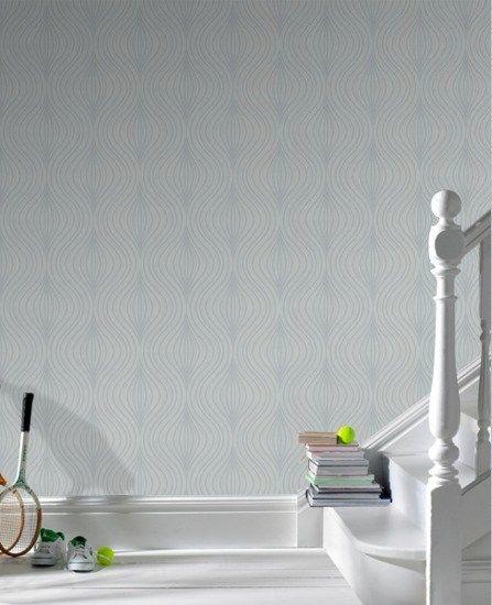 Zara Gray Wallpaper - Gray Geometric Wall Coverings by Graham  Brown