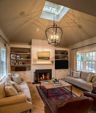 Media Center Around Tv Above Fireplace Design Ideas, Pictures, Remodel and Decor