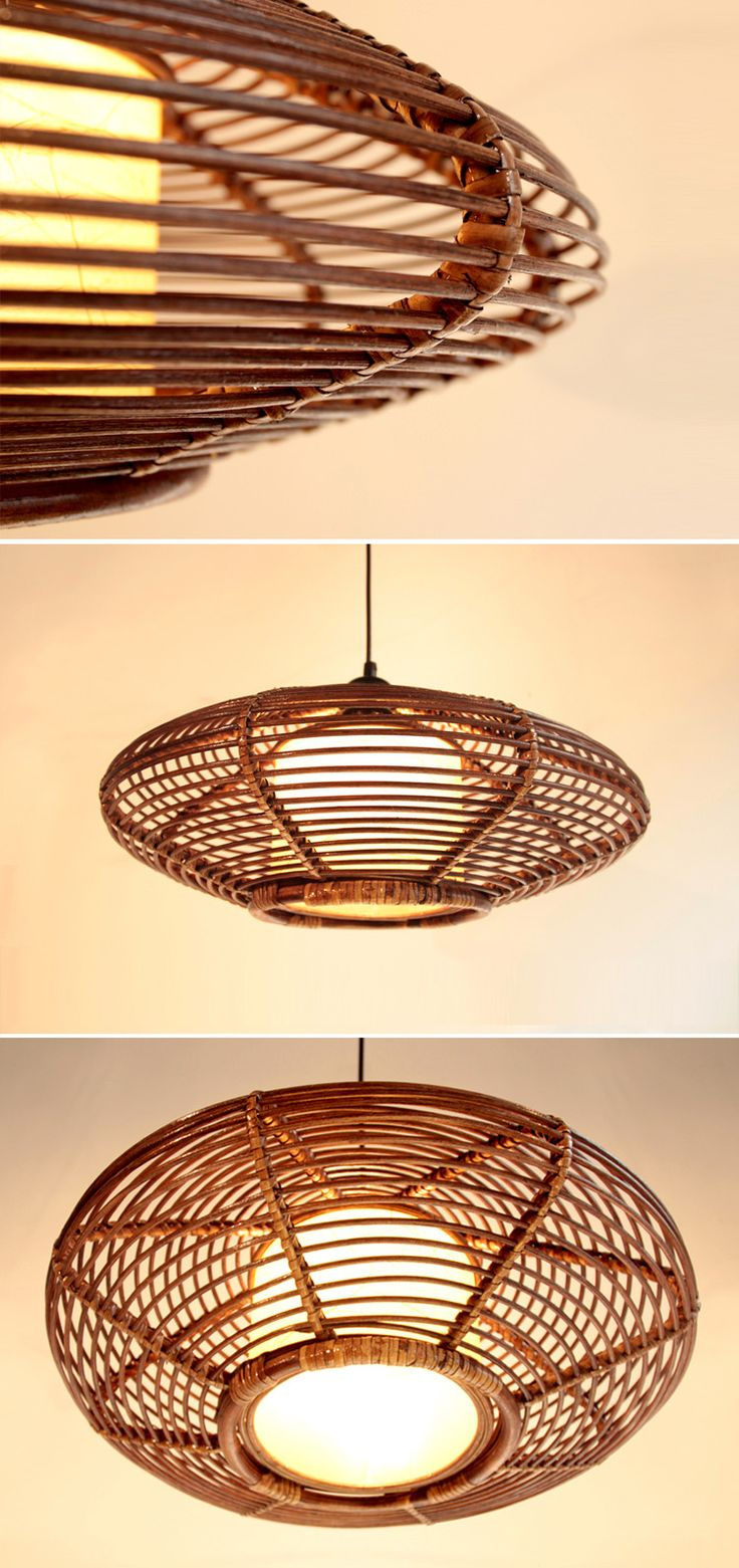 best  rattan pendant light ideas on pinterest  rattan light  - southeast asia rattan oval dining room ceiling pendant lights handmadestudy room restaurant parlor pendant chandelier fixtures