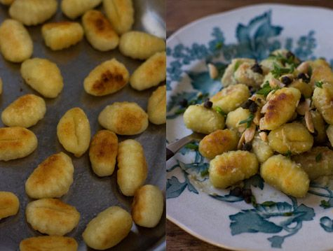 with green chiles green onions and cheese gnocchi gnocchi green olive ...