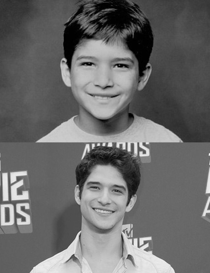 Tyler Posey then and now :)