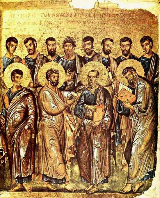 The Synaxis of the Twelve Holy Apostles