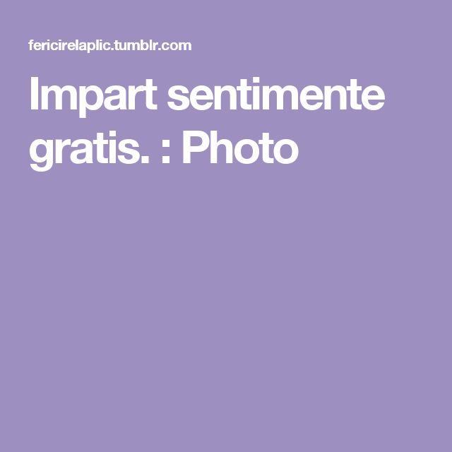 Impart sentimente gratis. : Photo