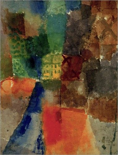 Paul Klee - The Yellow House
