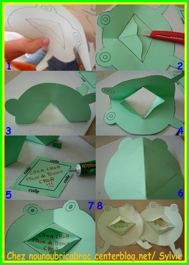 114 best grenouille images on pinterest frogs arts plastiques and preschool - Origami facile grenouille ...