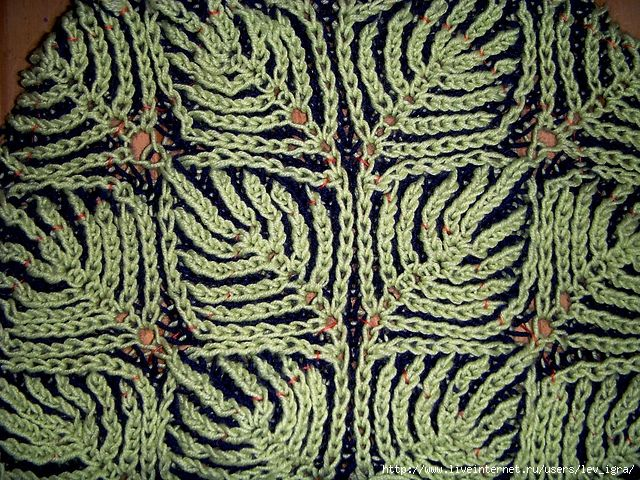 Brioche Stitch Описание техники вязания. Комментарии : LiveInternet - Российский Сервис Онлайн-Дневников