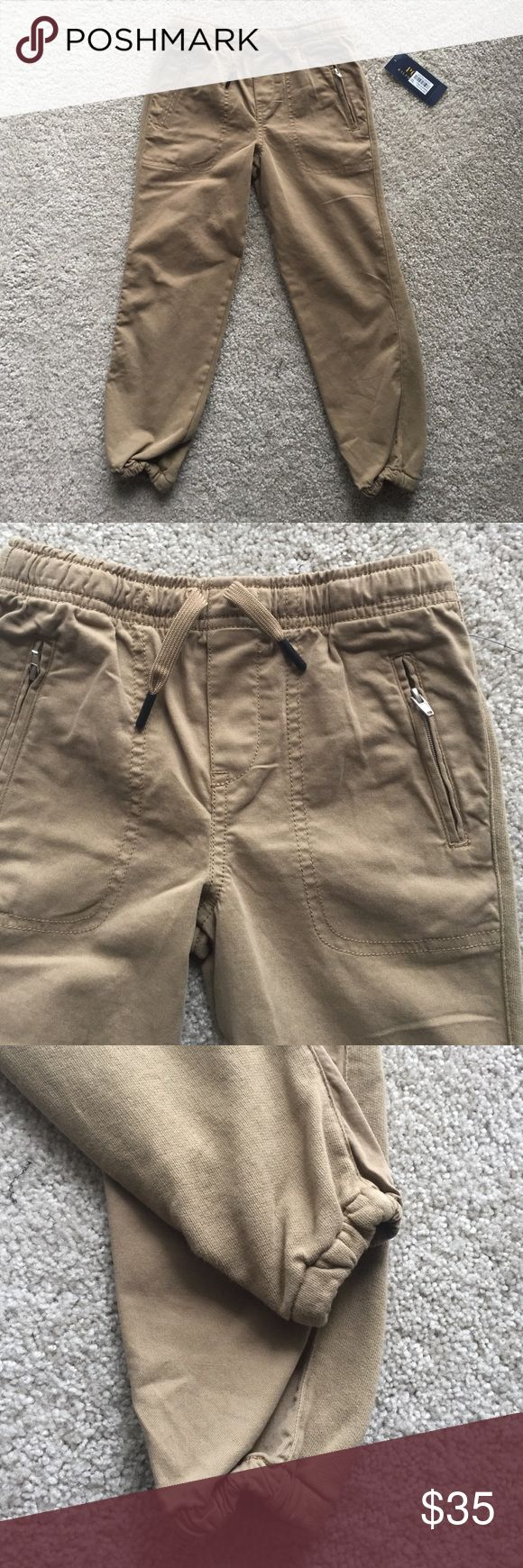 Ralph Lauren 5T boy jogger pants Nwt. In perfect new condition. Very comfy and trendy pants! 98% cotton 2% elastane. No trade Ralph Lauren Bottoms Casual