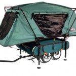 Kamprite bike pop-up tent again