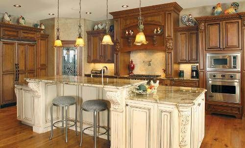 Home depot kitchen cabinets kitchen cabinet stain colors for Home depot kitchen design