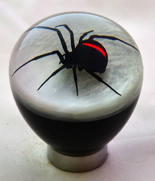 stick shift knobs | Details about Redback Spider Gear Stick Shift Knob by Custom Redback