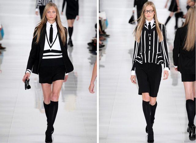 Ralph Lauren -Colección -primavera - verano 2014- Fashion Week Nueva York (19)