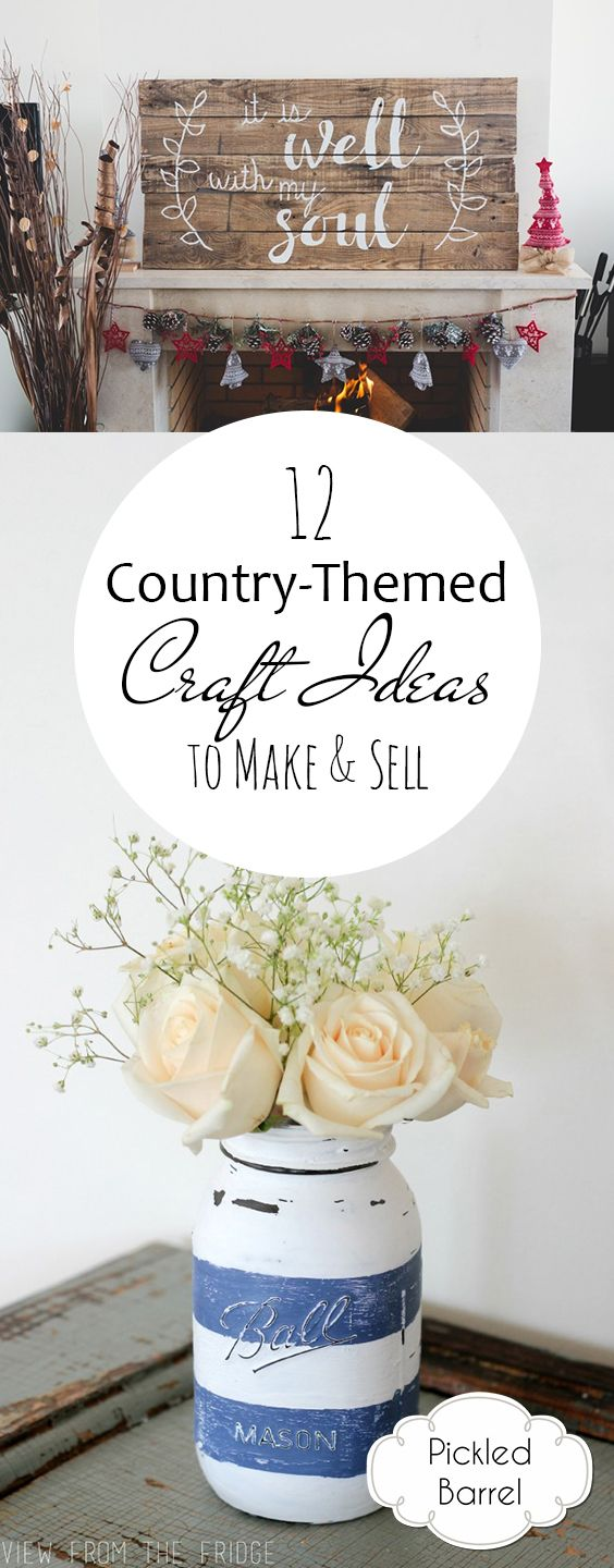12 Country Themed Craft Ideas to Make u0026