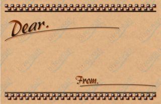 メッセージカード2|テンプレートの無料ダウンロードは【書式の王様】