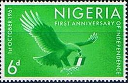 Nigeria 1961 First Anniversary of Independence Set Fine Mint SG 106 10 Scott 118 22 Other Nigerian Stamps HERE