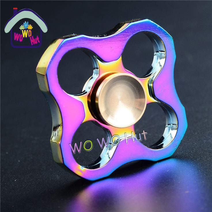 >> Click to Buy << Polygon 2 Colors Hand Spinners Copper Triangle Gyro Anti Stress Sensory Spinner Hand High Quality Adult Toys #Affiliate