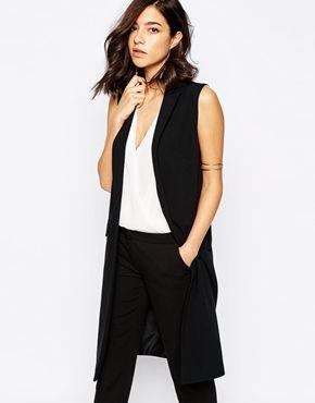 fabulous Warehouse Sleeveless Longline Jacket