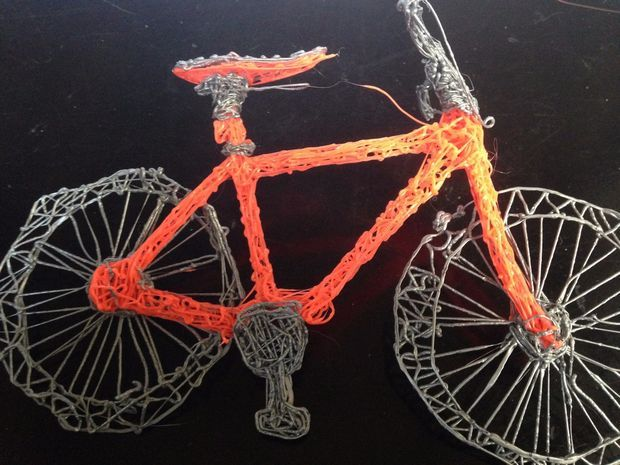 3Doodler Mongoose Mountain Bike - Instructable