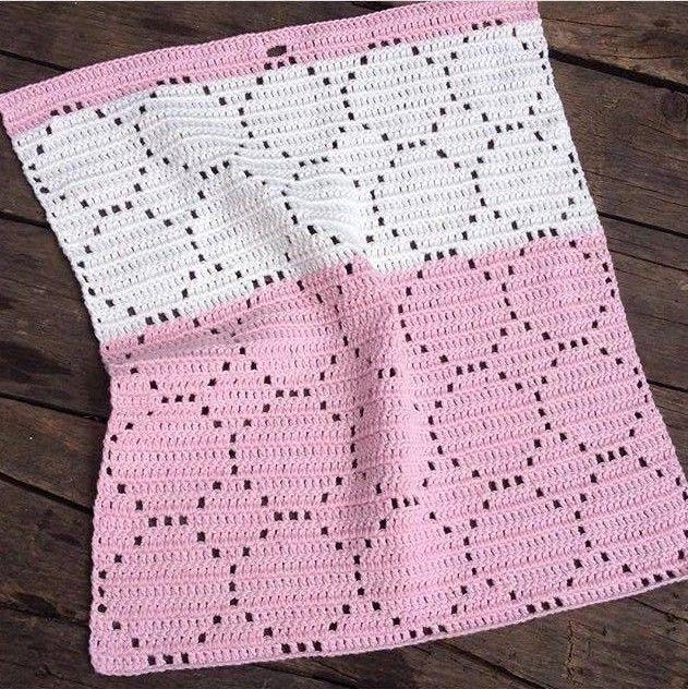 Hæklet Håndklæde med bobler, gratis hækle opskrift, Hækle opskrifter, hæklet håndklæde